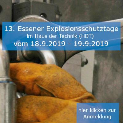 13. Essener Explosionsschutztage