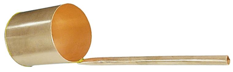Sampling dipper with handle