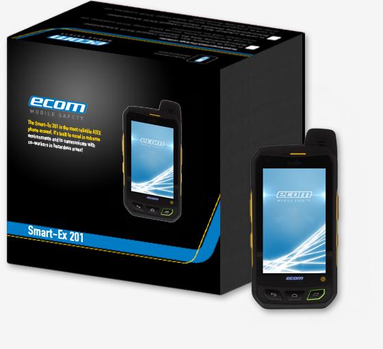 I.S. Smartphone Smart-Ex 201 (ATEX/IECEx/NEC zone 2/22)