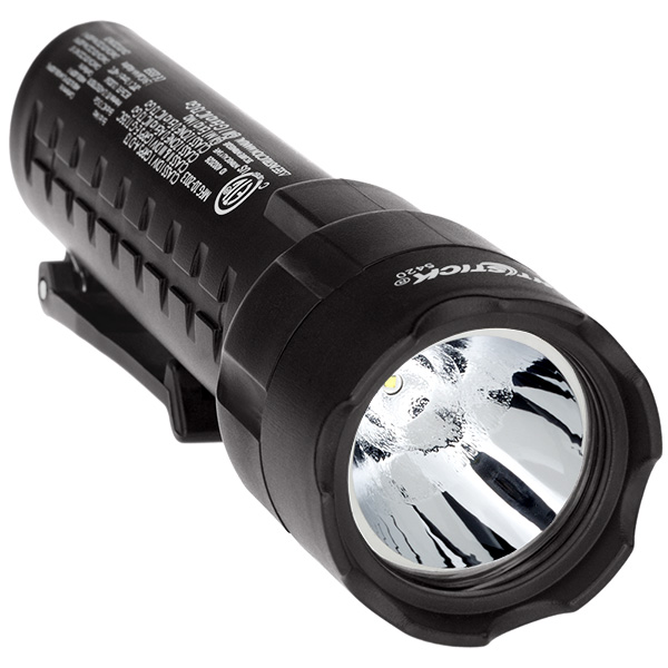 XPP-5420B Black Safety Rated LED Flashlight ,  140 Lumen