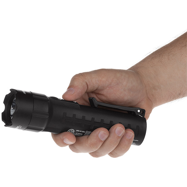XPP-5422B Black Safety Rated LED Flashlight   140 Lumen   Dual light