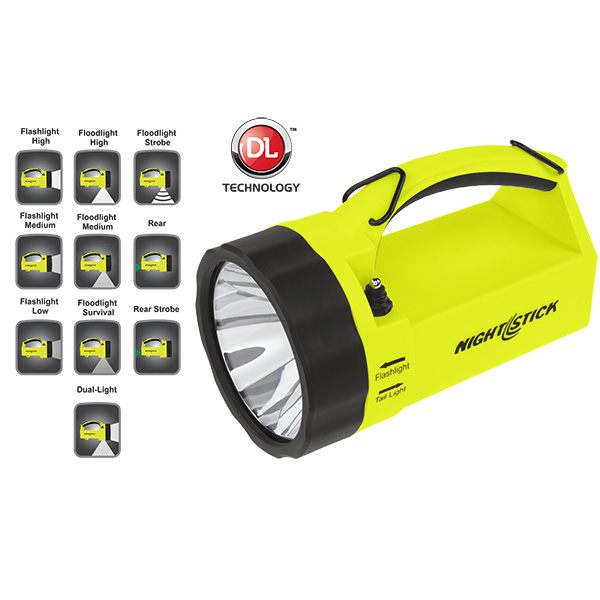 BY-XPR-5580G Intrinsically Safe Dual-Light ™  Lantern Rechargeable