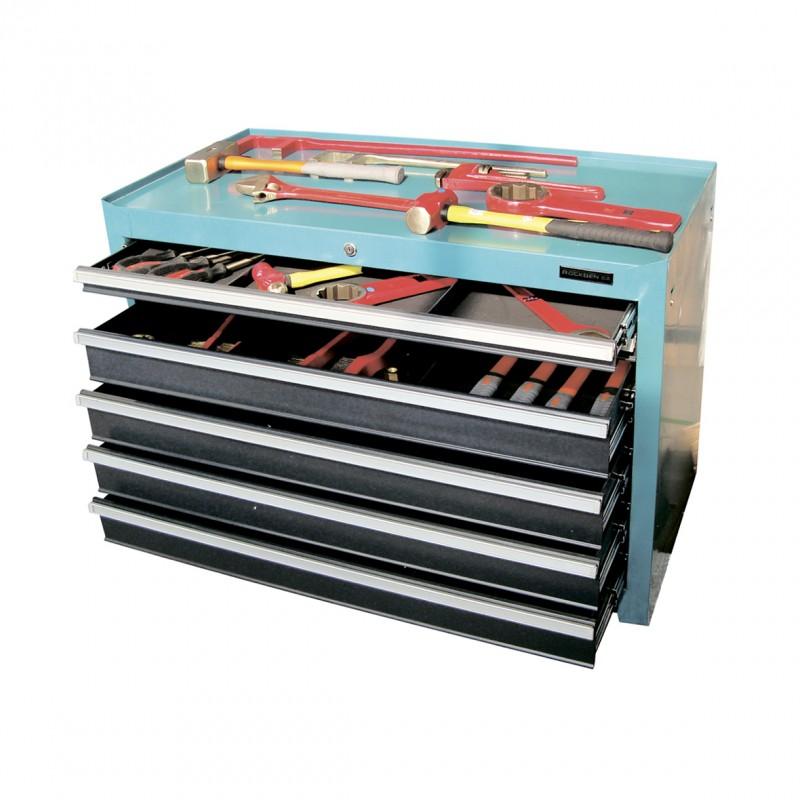 Workshop trolley spark-free tool 120 pcs