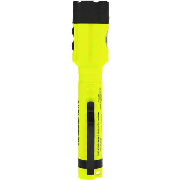 XPP-5414GX Green Safety Rated LED Flashlight ,  120 Lumen ,  Dual light