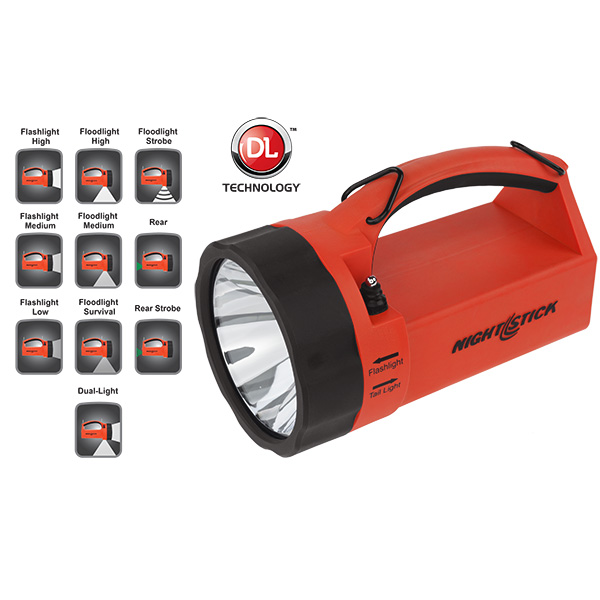BY-XPR-5580R Intrinsically Safe Dual-Light ™  Lantern Rechargeable