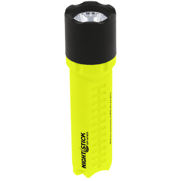 XPP-5418GX-K01 Intrinsically Safe Flashlight (3 AA) with Multi-Angle Mount | yellow | 200 lm