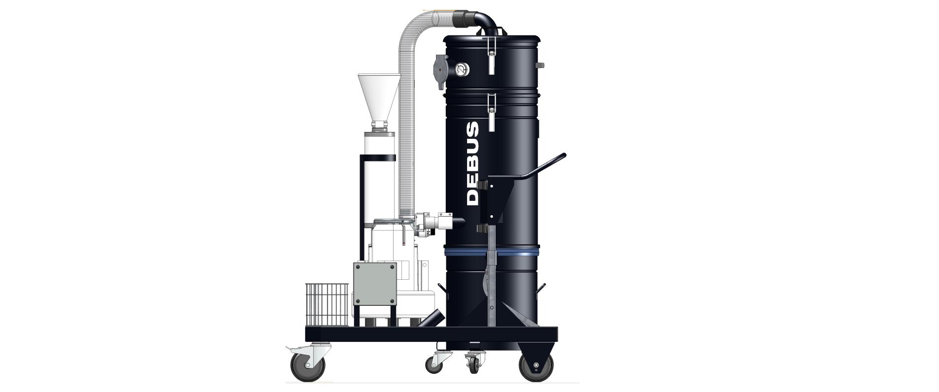 Three-phase current ATEX dry vacuum cleaner BLACK VAC RECLEAN