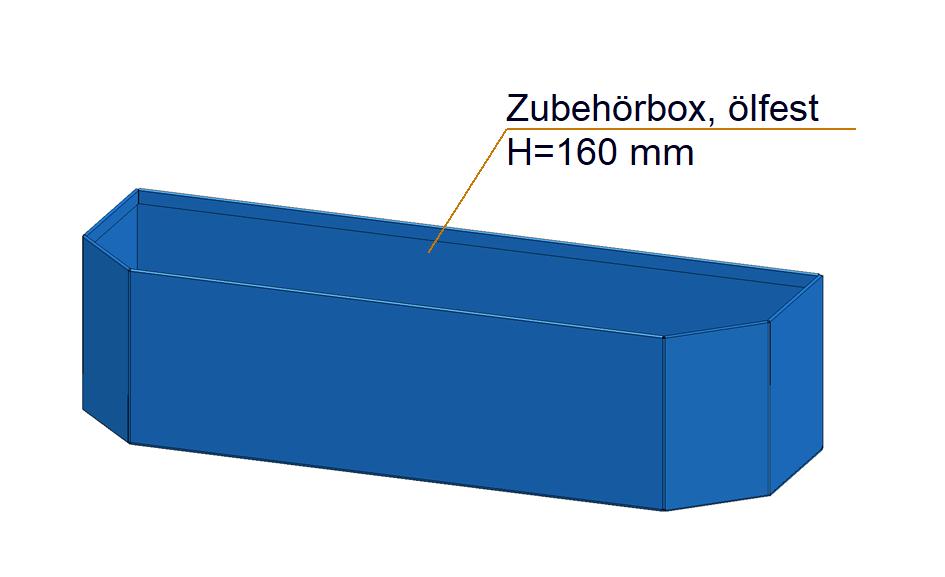 utensil basket type 119, made of sheet steel H=160