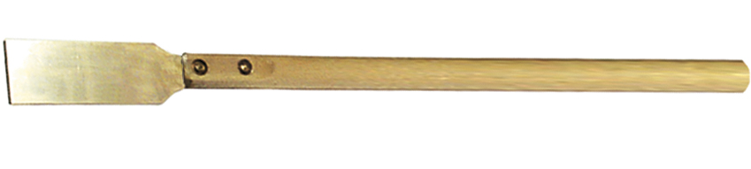 Scraber with wooden handle