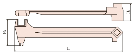 Universal drum wrench