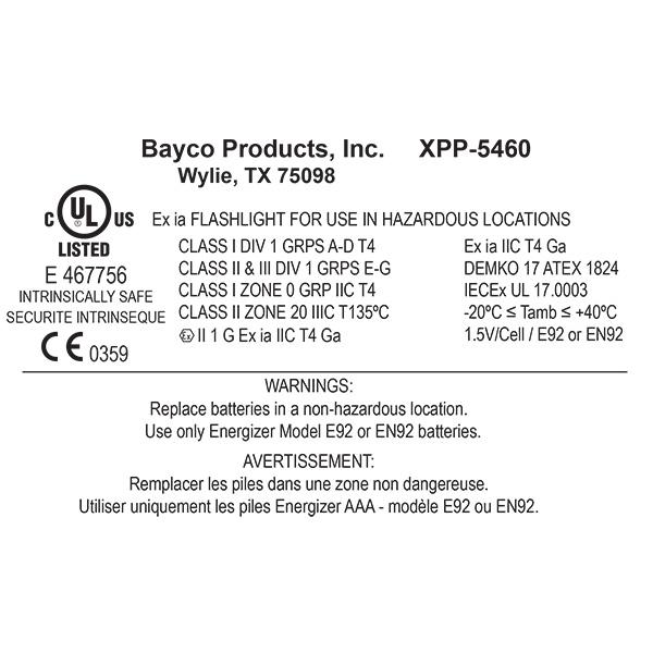 XPP-5460GX Intrinsically Safe Permissible Multi-Function Dual-Light™ Headlamp | 200 Lumen