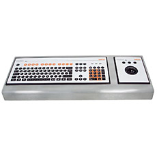 POLARIS Console housing for mouse and keyboard