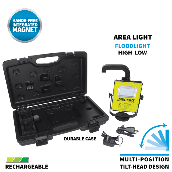 XPR-5592GX Intrinsically Safe Rechargeable LED Scene Light Kit