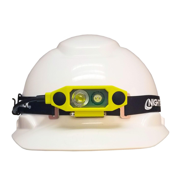 XPR-5562GX Schmale eigensichere Dual-Light ™ Kopflampe | 300 lm | gelb | Akku