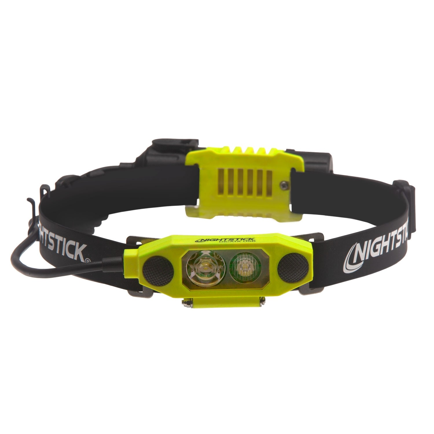 XPR-5462GX X-Series Intrinsically Safe Low-Profile Dual-Light™ Headlamp - Green | 310 lm | green