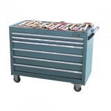 Workshop trolley spark-free tool 120 pcs