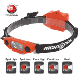 XPP-5462RX X-Series Intrinsically Safe Low-Profile Dual-Light™ Headlamp | 310 lm | red