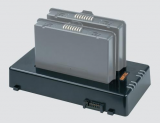 2-slot battery charger suitable for Agile X IS