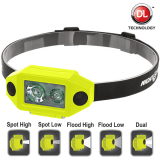 XPP-5460GX Eigensichere, zulässige Multifunktions-Dual-Light ™ Kopflampe | 190 Lumen