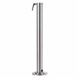 POLARIS floor mounting stand for stainless steel enclosures