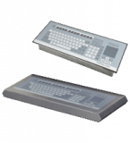 Zone 2 / Division 2 stainless steel housed keyboard with capacitive touchpad mouse